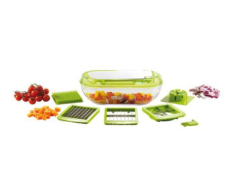 Sada kráječ na zelenin a dóza na potraviny Fruity Joy