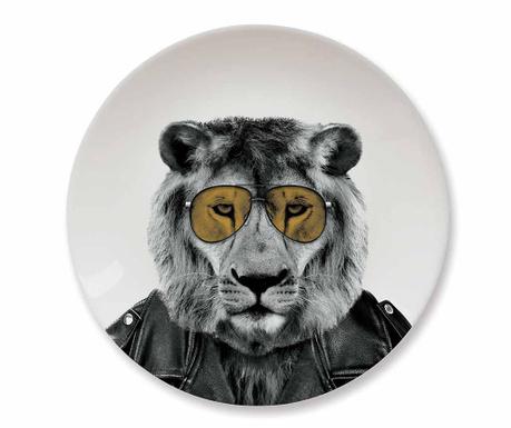 Mělký talíř Lion