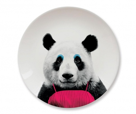 Mělký talíř Panda