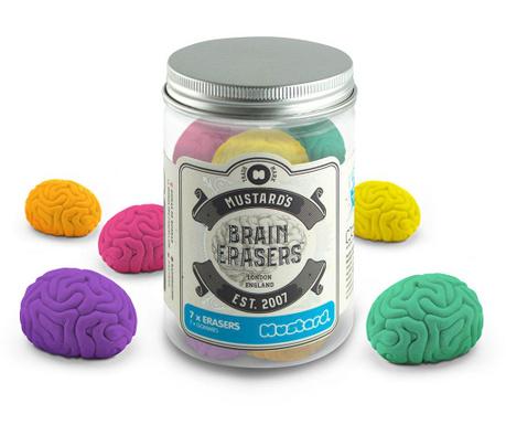 Sada 7 mazacích gum Brain
