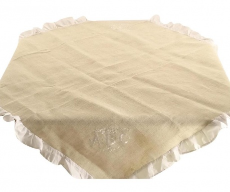 Покривка за маса Beige Folders 100x100 см