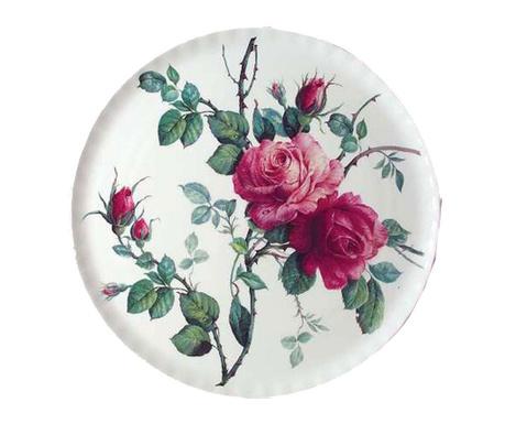 Krožnik English Rose