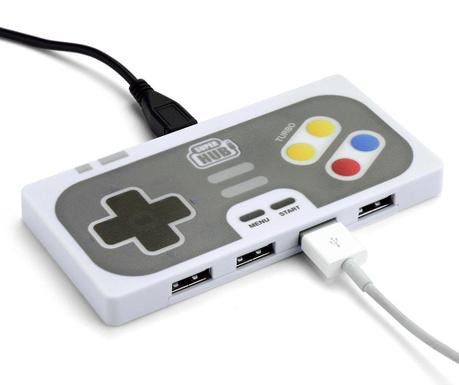 Hub USB 2.0 se 4 porty Play