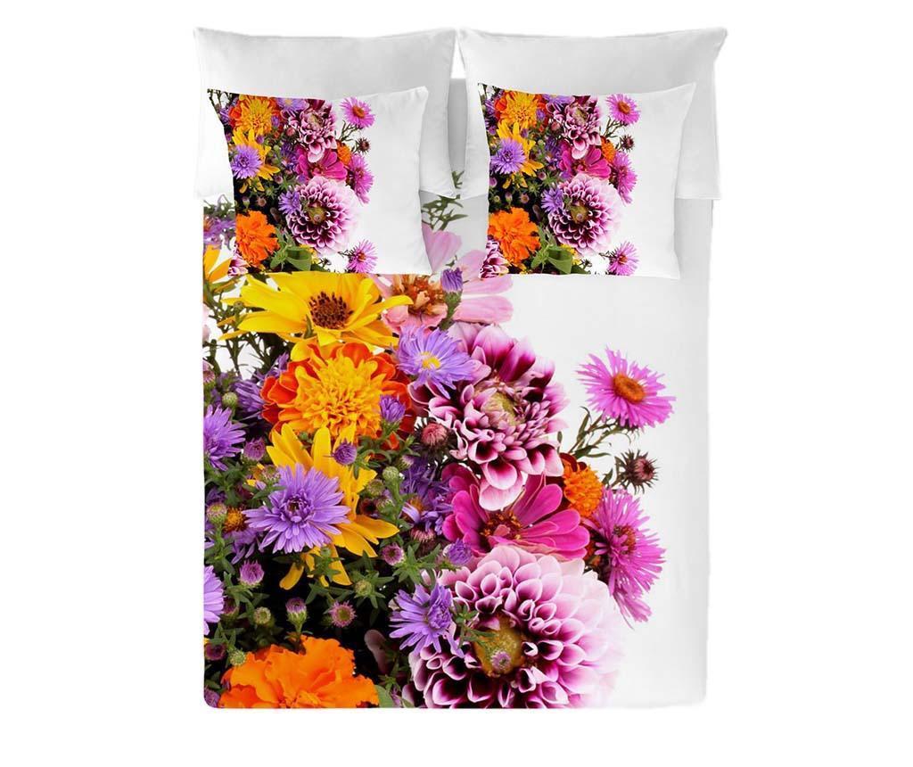 Ložní povlečení Double Ranforce Flowers Extra