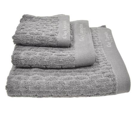 Zestaw 3 ręczników kąpielowych Palazzo Dark Grey