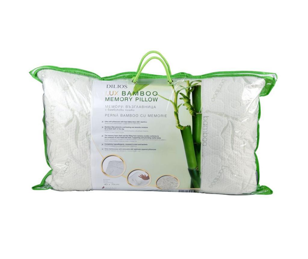 Hypoalergenní polštář Lux Bamboo 40x70 cm