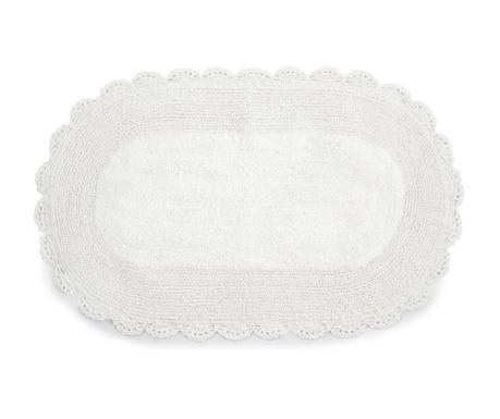 Tepih za kupaonicu Bianco Lace 50x80 cm
