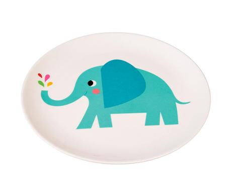 Farfurie intinsa pentru copii Elvis the Elephant