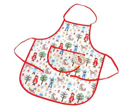Μαγειρική ποδιά για παιδιά Red Riding Hood 3-7 χρόνια