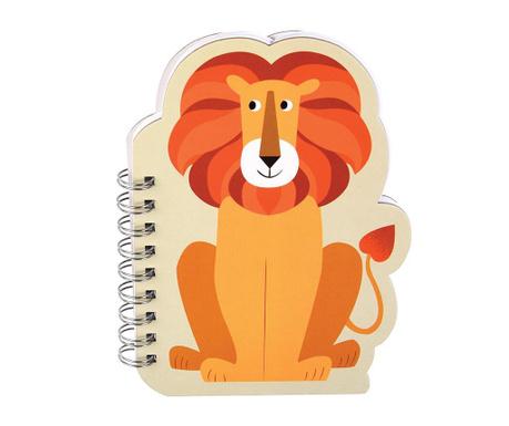 Špirálový zošit Charlie the Lion