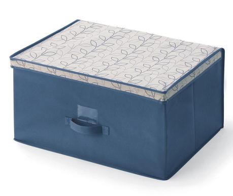Кутия с капак за съхранение Bloom Blue L