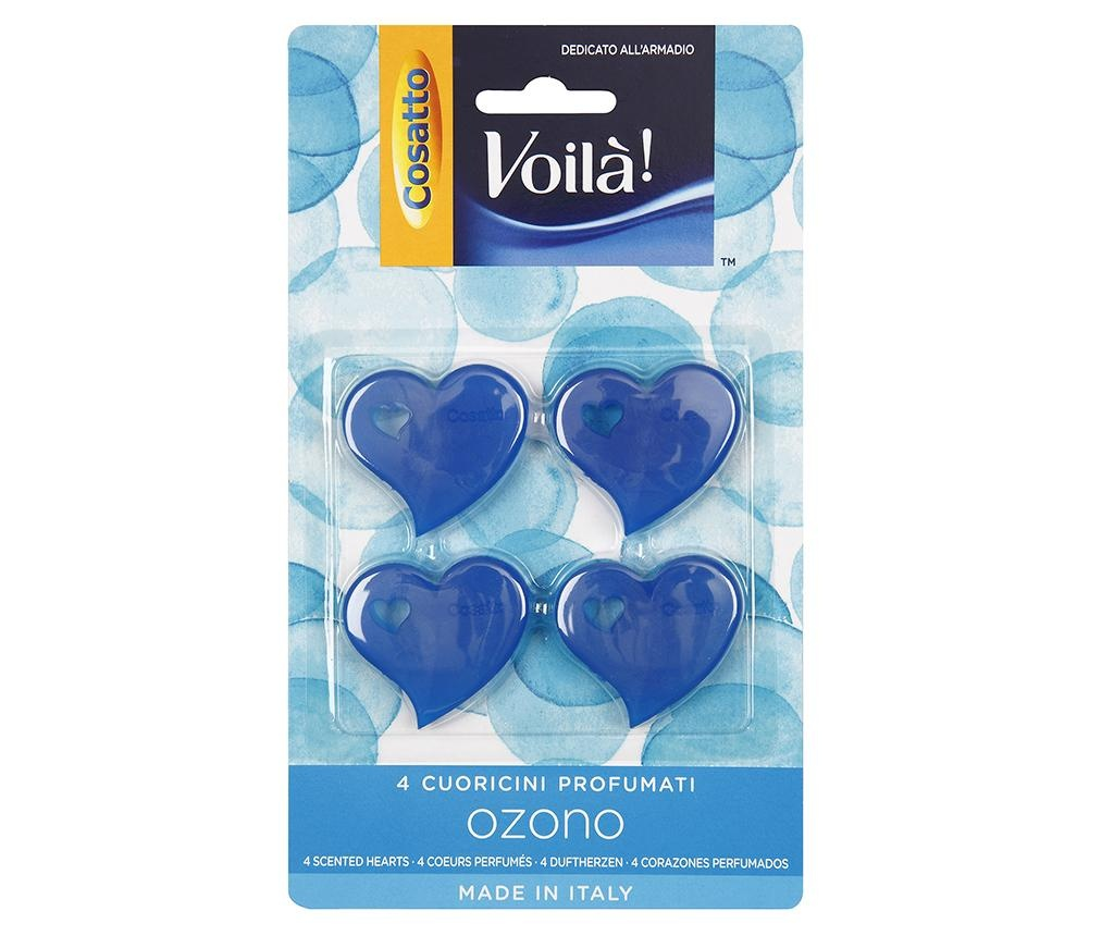 Set 4 osvežilcev za garderobno omaro Ozono