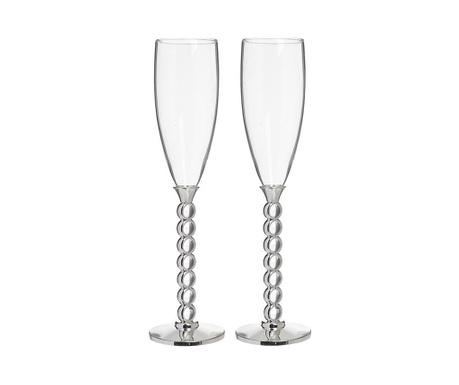 Set 2 kozarcev za šampanjec Felicity 150 ml