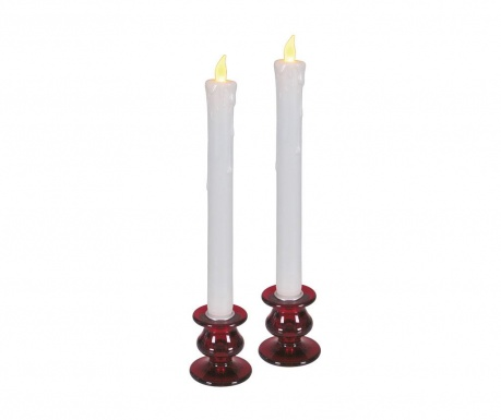 Set 2 LED sveč Tamsin