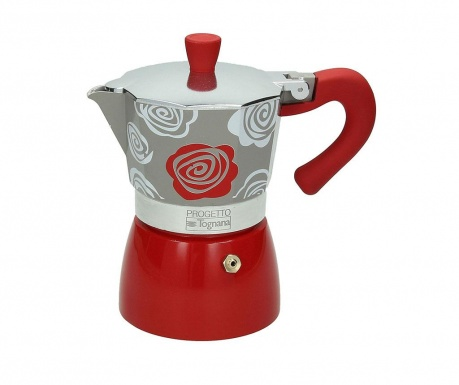 Cafetiera Amica Wom Red 300 ml