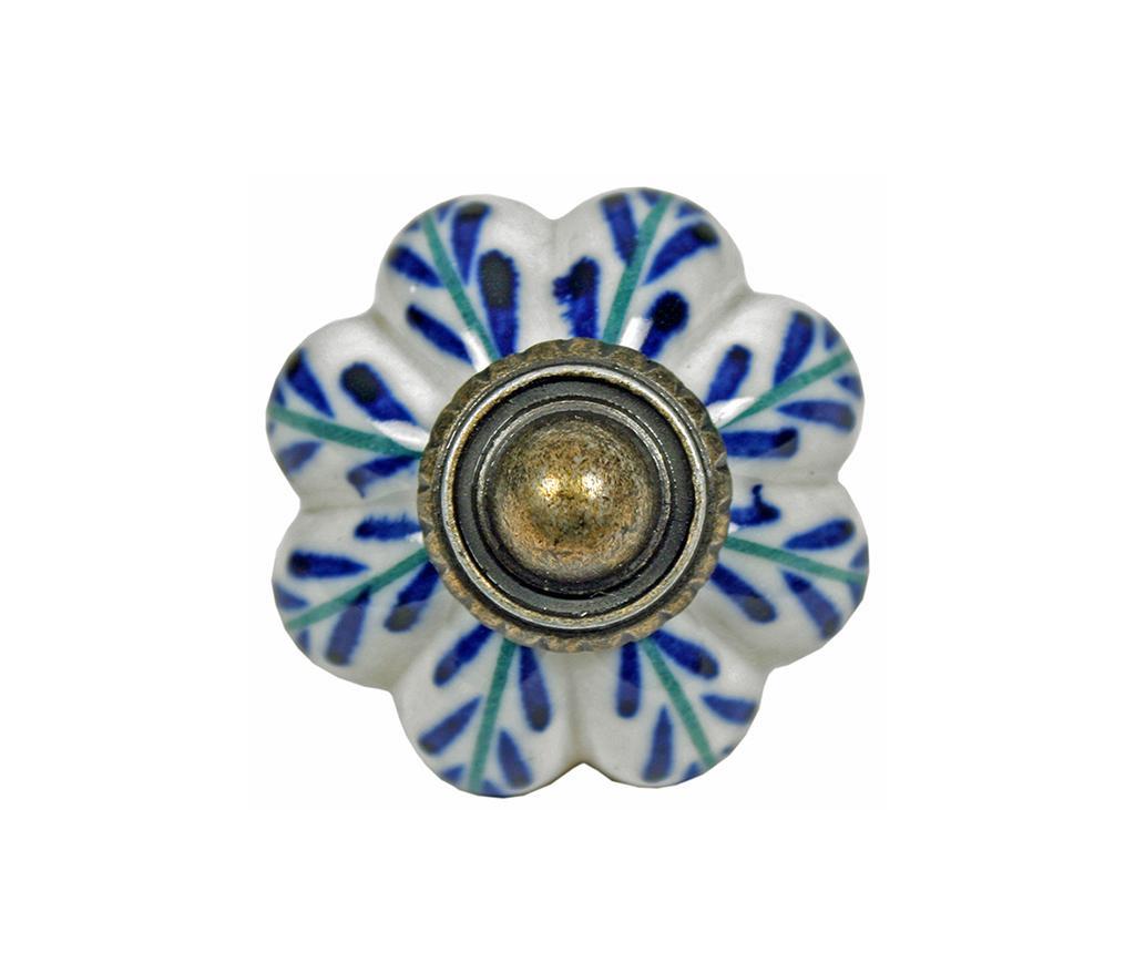 Buton pentru sertar Blue Leaf