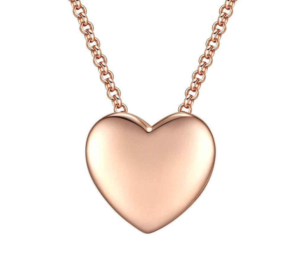 Golden Simple Heart Nyaklánc függővel