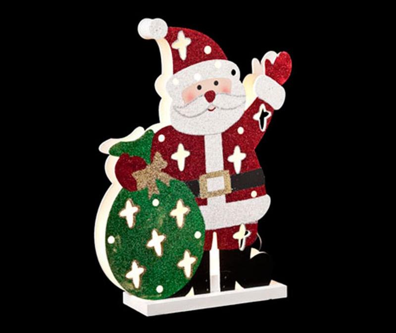 Decoratiune luminoasa Santa Waving