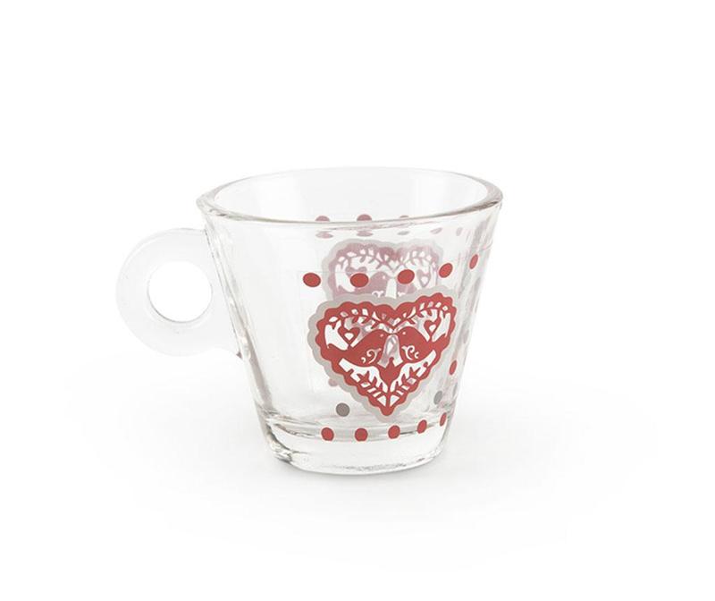 Šálek na kávu Jolly Hearts 80 ml
