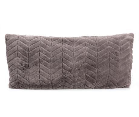 Geometric Grey Díszpárna 30x60 cm