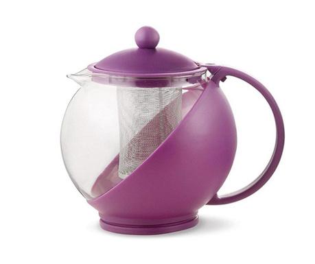 Calliope Purple Teáskanna fedővel és szűrővel 1.2 L