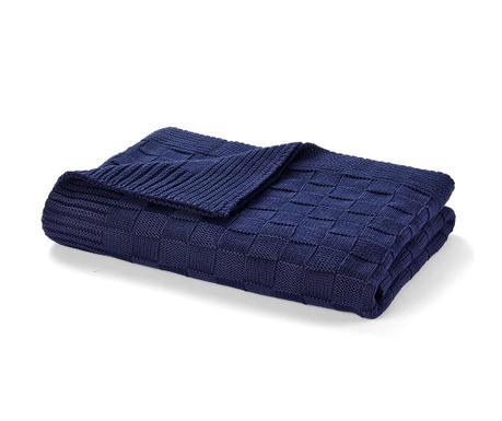 Одеяло Allan Navy 130x170 см