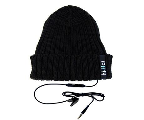 Caciula cu casca integrata hi-Hat Black