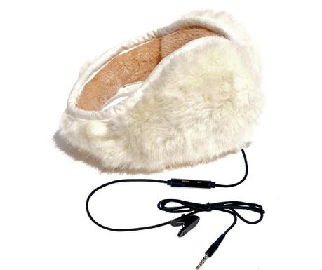 Casti hi-Ear Pouf White