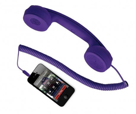 hi-Ring Purple Telefonkagyló