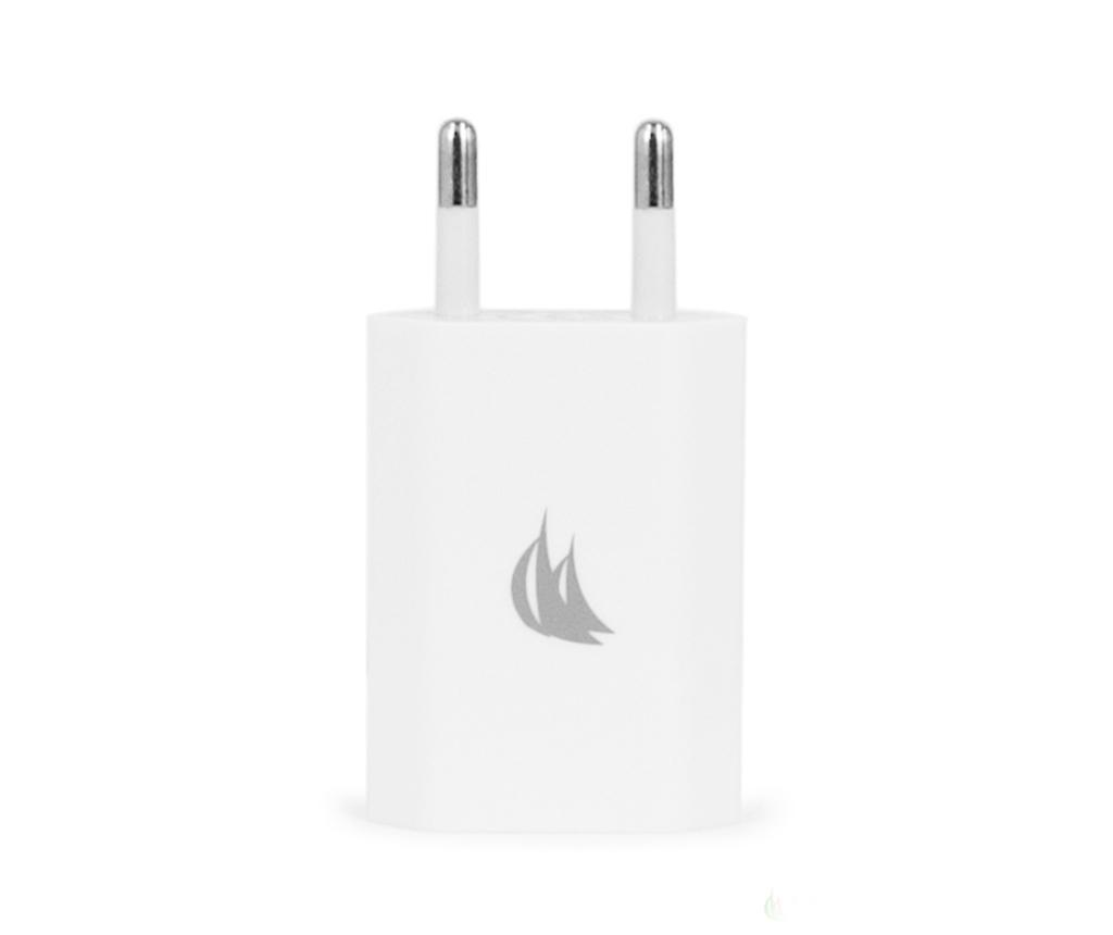 Adapter za vtičnico Mono USB White