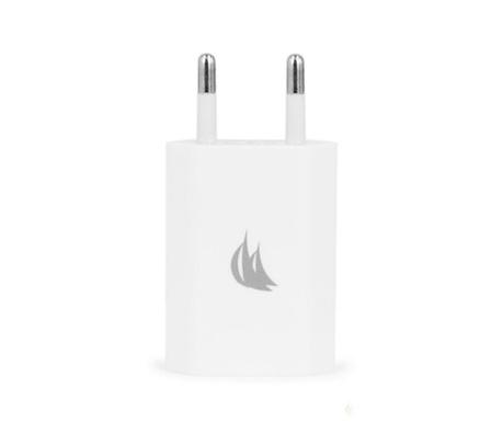 Adaptor pentru priza Mono USB White