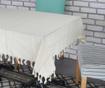 Fata de masa Rustic Silver Cream 140x180 cm