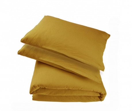 Komplet pościeli King Percale Supreme Ellwood Gold