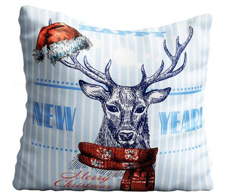 Perna decorativa Happy New Year 43x43 cm