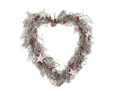 Decoratiune de usa Heart Wreath