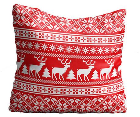 Perna decorativa Reindeer Lace 43x43 cm