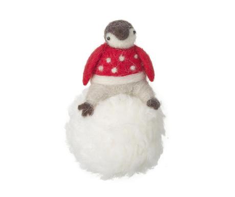 Decoratiune Penguin Snow Ball