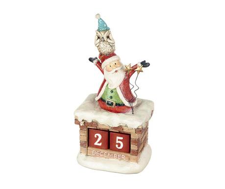 Calendar Santa And Owl