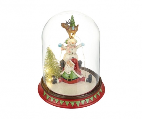 Decoratiune luminoasa Santa's Scene