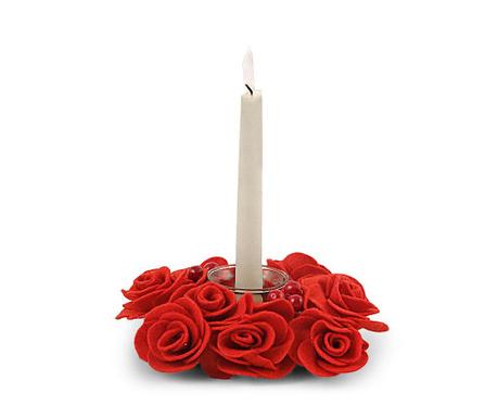 Roses Gyertyatartó