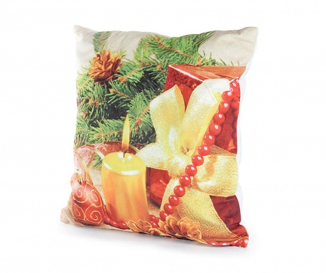 Set 2 fete de perna cu LED-uri Holiday Spirit 40x40 cm