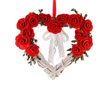 Heart Roses Felfüggeszthető dekoráció