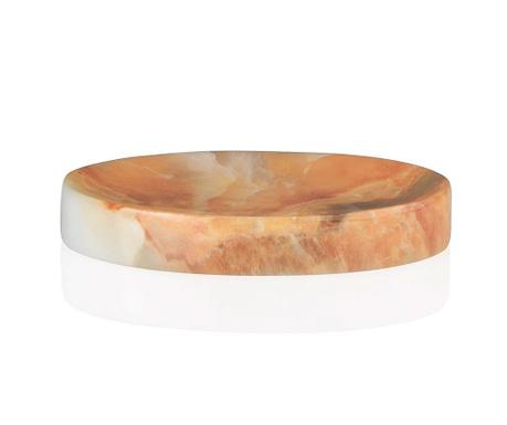 Marble Swirl Orange Szappantartó