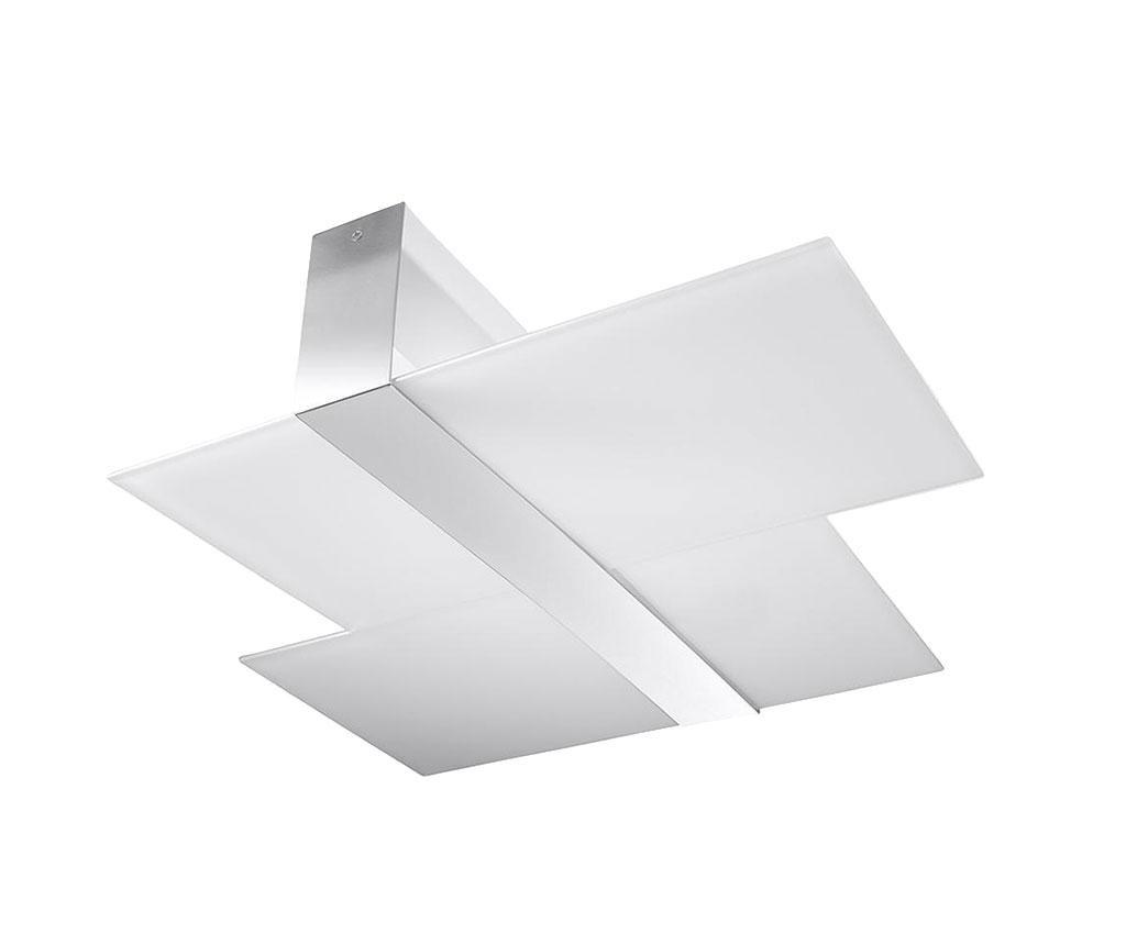 Plafoniera Leda Duo Silver Grey