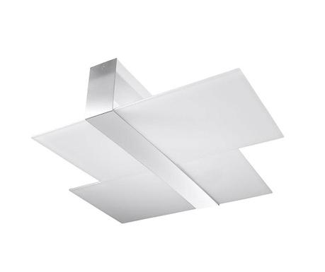 Stropna svjetiljka Leda Duo Silver Grey