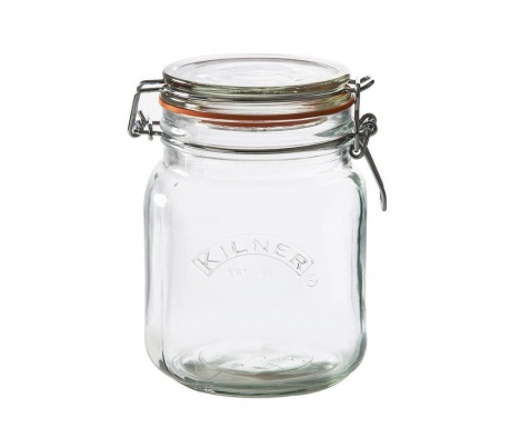 Clip Top Diff Befőttesüveg hermetikus fedővel 1 L