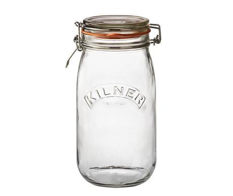 Clip Top Befőttes üveg  hermetikus fedővel 1.5 L