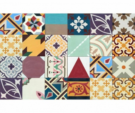Линолеум Mix and Match  Geometric 100x64 см