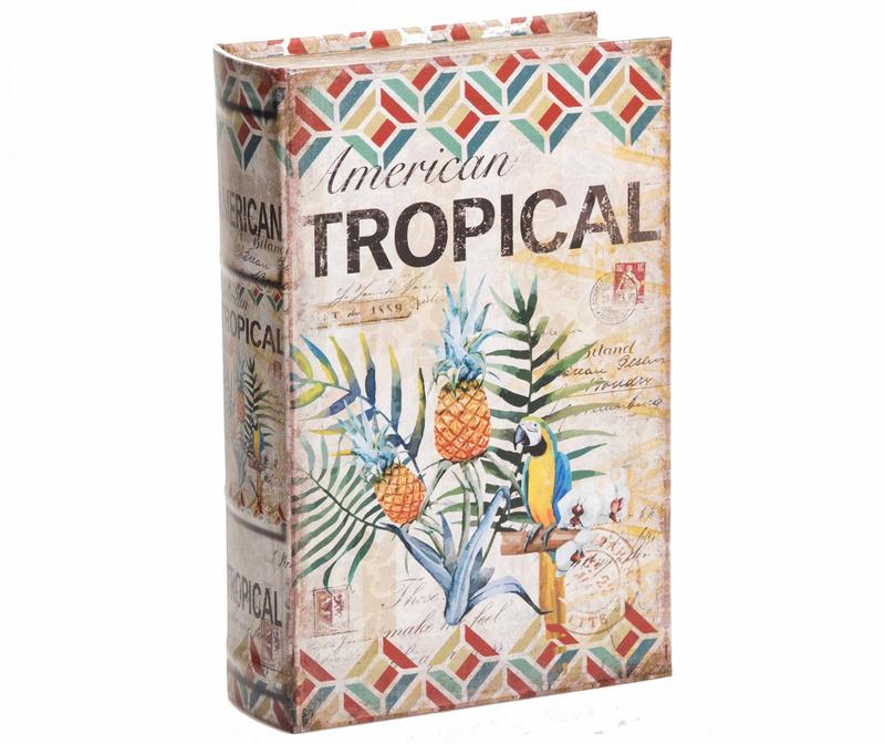 Kutija tipa knjige American Tropical