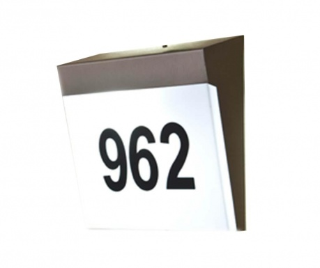 Aplica de exterior Numbers & Letters